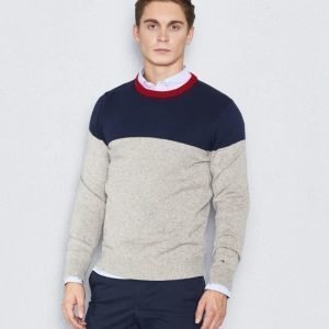 Tommy Hilfiger Donegal Colour Block 416 Navy/White