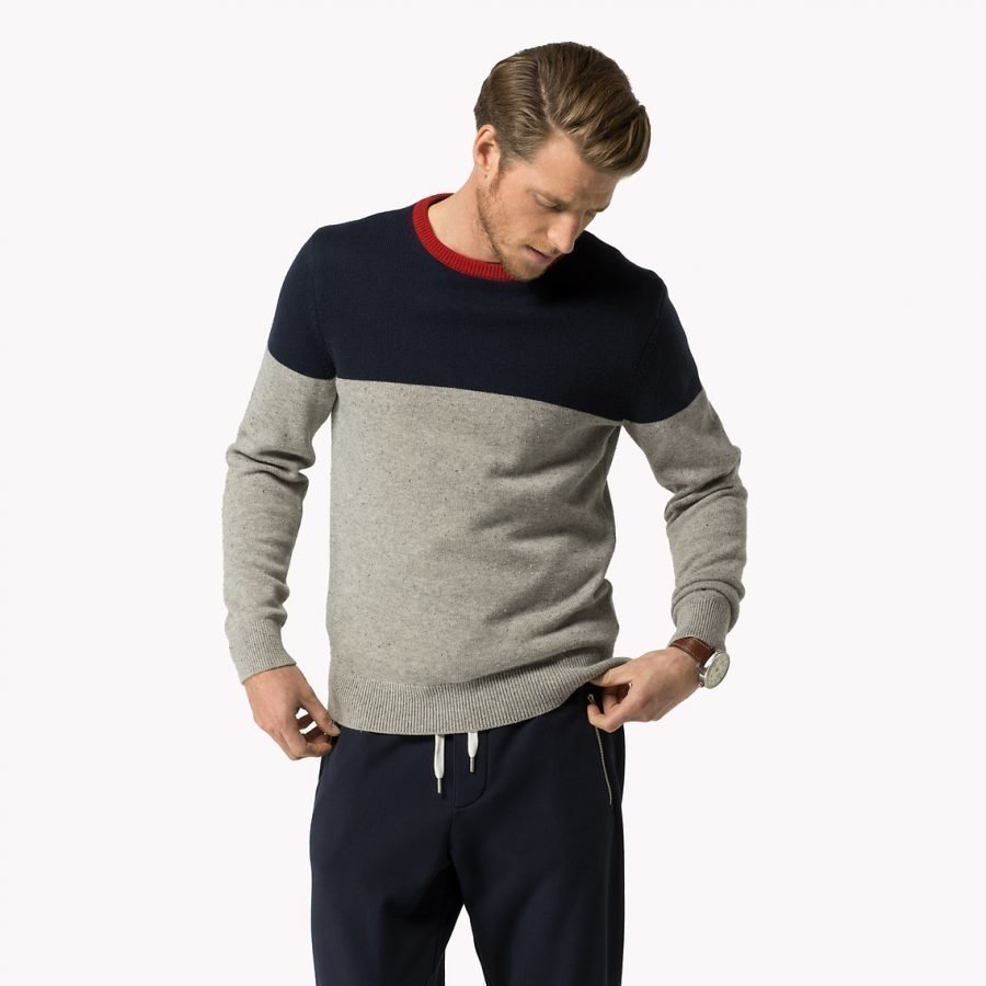 Tommy Hilfiger Donegal Colour Block Neule