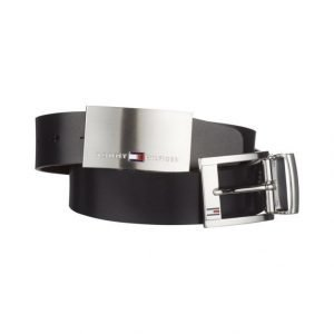 Tommy Hilfiger Double Buckle Nahkavyö