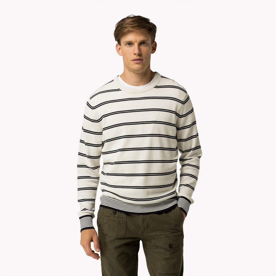 Tommy Hilfiger Hendriks C-Neck Puuvillaneule