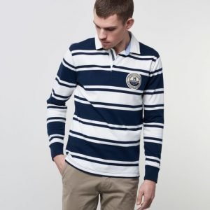 Tommy Hilfiger Nick Striped Rugby 416 Navy Blazer