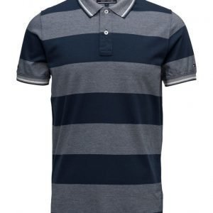 Tommy Hilfiger Oxford Stp Polo S/S Sf lyhythihainen pikeepaita