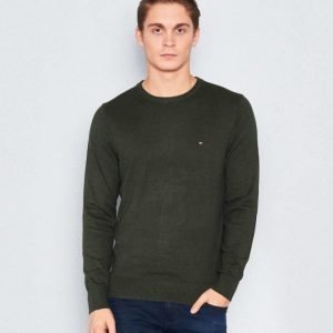 Tommy Hilfiger Pima Cotton/Cashmere Green