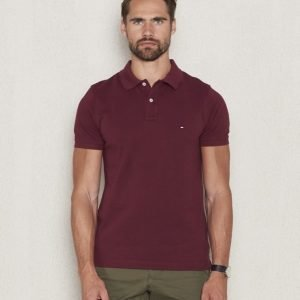 Tommy Hilfiger Slim Fit Polo 640 Tawny Port