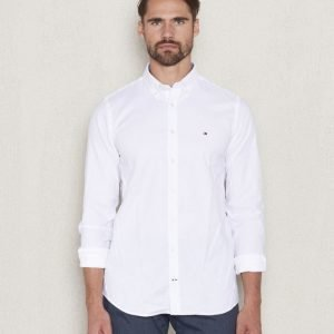 Tommy Hilfiger Stretch Oxford  100 White