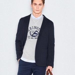 Tommy Hilfiger Structured Jersey Blazer 403 Midnight