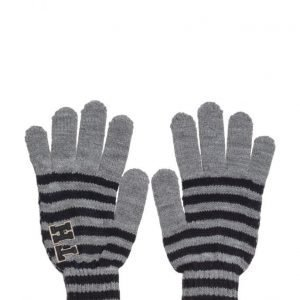 Tommy Hilfiger Th Patch Gloves Stripes hanskat