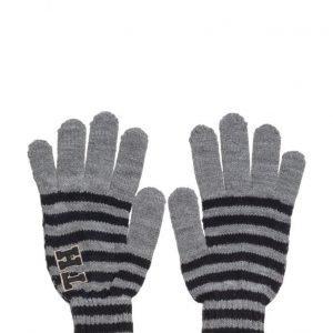 Tommy Hilfiger Th Patch Gloves Stripes hanskat