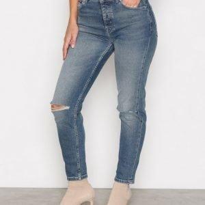 Tommy Jeans High Rise Slim Izzy Farkut Light Blue