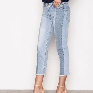 Tommy Jeans Straight Ankle Suky Farkut Light Blue