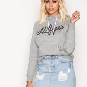 Tommy Jeans Thdw Basic Graphic L / S Huppari Grey