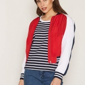 Tommy Jeans Thdw Bomber 33 Takki Lipstick Red / Multi