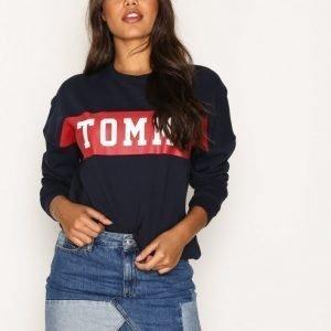Tommy Jeans Thdw Recon Denim Skirt Minihame Denim