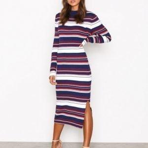 Tommy Jeans Thdw Stripe Dress L / S Kotelomekko Blue