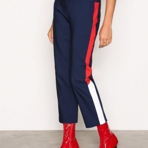 Tommy Jeans Thdw Tailored Crop Pant Housut Blue