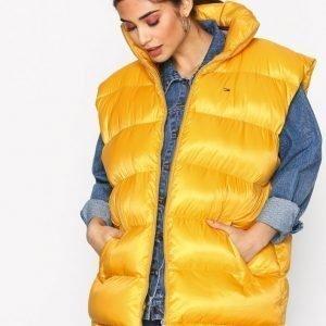 Tommy Jeans Tjw Oversized Vest 34 Untuvatakki Gold / Gold