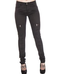 Tonya Zipped Black