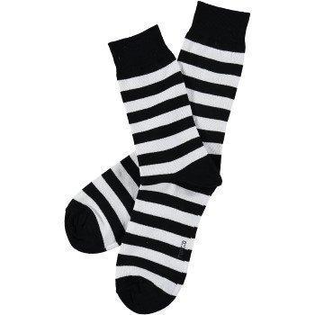 Topeco Mens Classic Socks Block Stripe