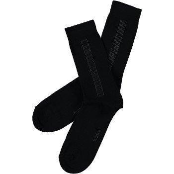 Topeco Mens Socks Wool Checkstripe