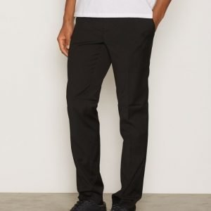 Topman Black Skinny Fit Smart Trousers Pukuhousut Black