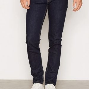 Topman Dark Blue Stretch Slim Jeans Farkut Dark Blue