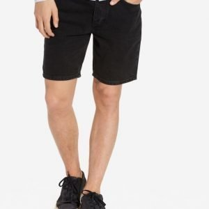 Topman Denim Slim Fit Shorts Shortsit Black