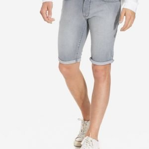 Topman Grey Stretch Skinny Denim Shorts Shortsit Grey