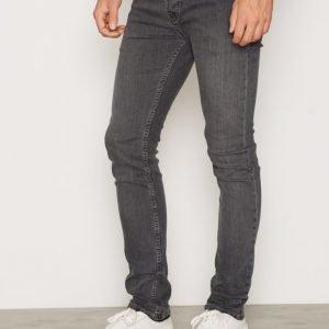 Topman Grey Stretch Skinny Jeans Farkut Grey