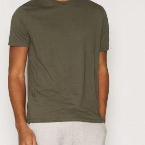 Topman Khaki Jersey T-Shirt T-paita Khaki