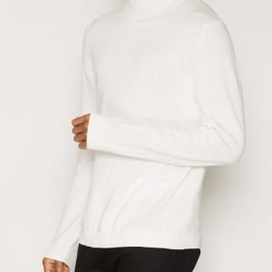 Topman Khaki Mini Roll Neck Jumper Pusero Offwhite