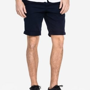 Topman Long Length Chino Shorts Shortsit Navy Blue