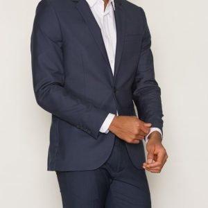 Topman Mid Blue Skinny Fit Suit Jacket Bleiseri Mid Blue