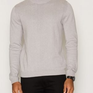 Topman Mini Roll Neck Jumper Pusero Grey