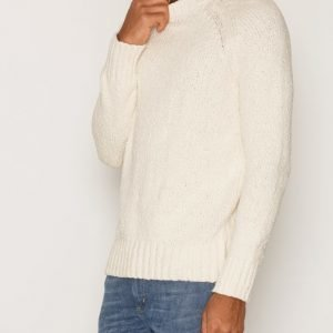 Topman Off White Popcorn Textured Slim Fit Jumper Pusero Offwhite