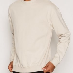 Topman Panel Oversized Sweatshirt Pusero Light Grey