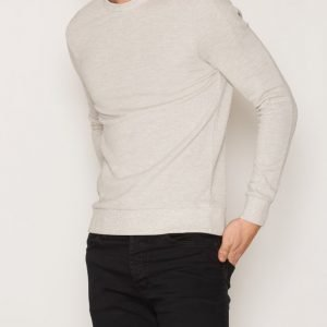 Topman Pique T-shirt Pusero Light Grey