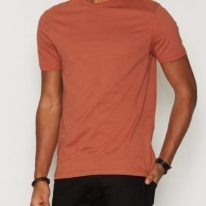 Topman Rust Slim Fit T-Shirt T-paita Oranssi