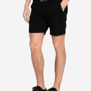 Topman Short Length Chino Shorts Shortsit Black