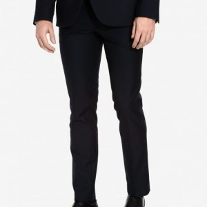 Topman Skinny Suit Trousers Puvunhousut Dark Blue