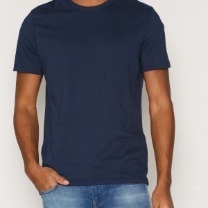 Topman Slim Fit Crew Neck T-Shirt T-paita Navy