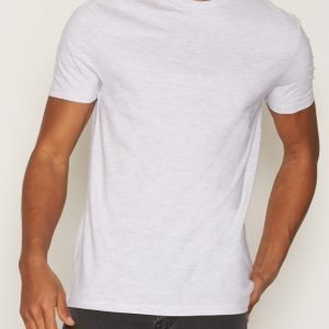 Topman Slim Fit Crew T-shirt T-paita Light Grey