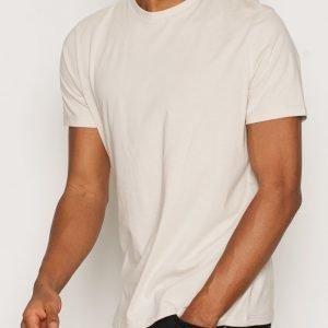 Topman Slim Fit T-Shirt T-paita Offwhite
