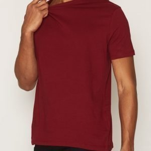 Topman Slim Fit T-Shirt T-paita Red