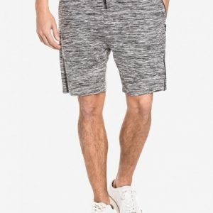 Topman Space Dye Zip Jersey Shorts Shortsit Grey