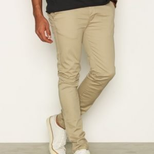Topman Stone Stretch Skinny Chinos Housut Stone