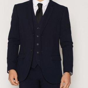 Topman Tempo Skinny Jacket Bleiseri Navy
