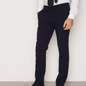 Topman Tempo Skinny Trouser Pukuhousut Navy