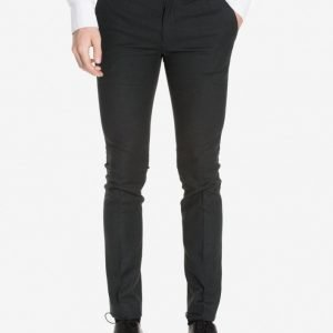Topman Ultra Skinny Fit Suit Trousers Puvunhousut Green