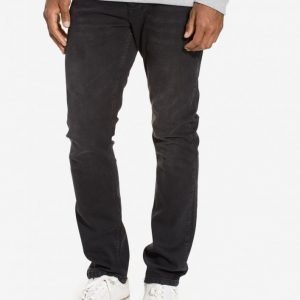 Topman Washed Black Stretch Slim Jeans Farkut Black