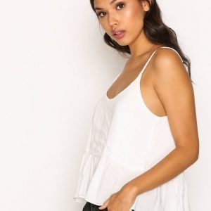 Topshop Casual Cami Top Toppi Ivory
